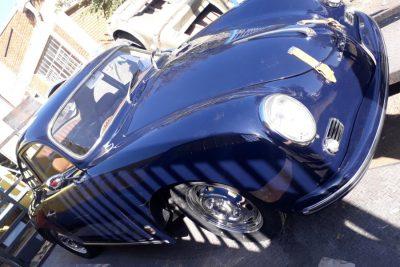 Dark Blue Porsche